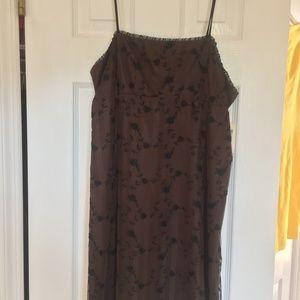 Nanette Le Pore Brown/black dress